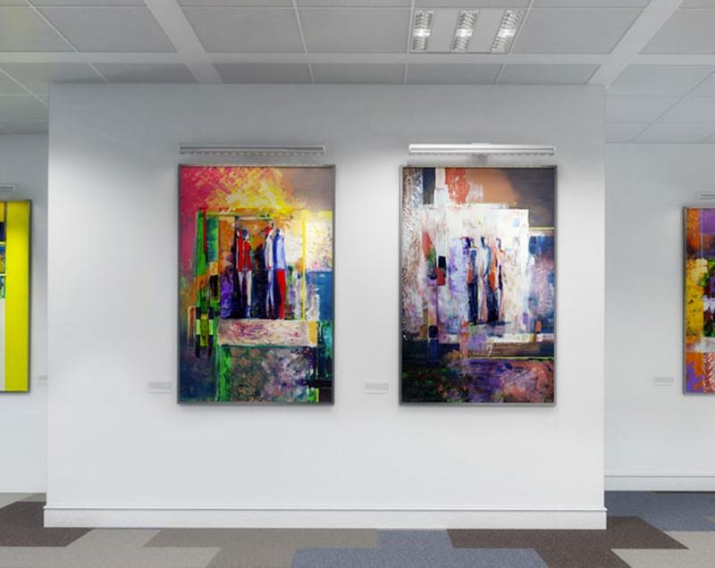 Tableau exposition couleurs